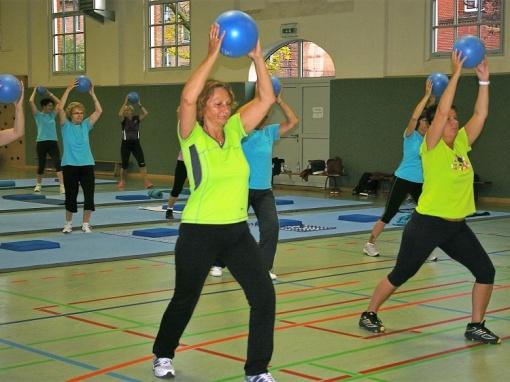 Sportgruppe gemischt – Herzkreislauf – Rückenfitness – Ausdauer