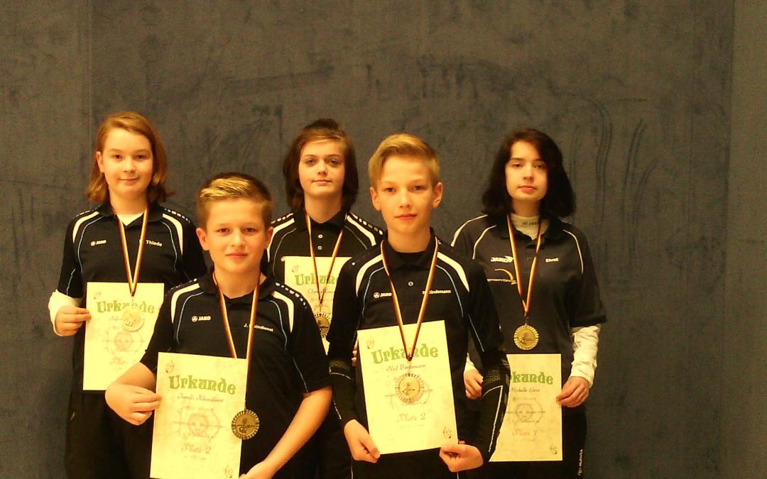 WSG Bogensportler mit Leistungssteigerungen beim 1.Wendland Cup in Lüchow