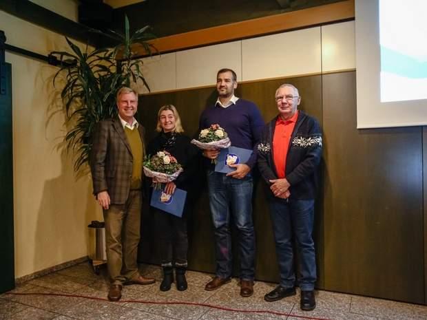 Magdalena Sell mit Ehrennadel des LSB ausgezeichnet